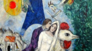chagall-los-novios