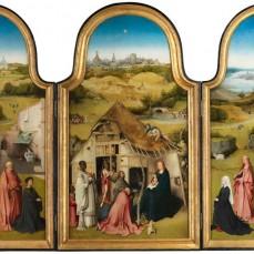 «Tríptico de la Adoración de los Magos», del Bosco. Óleo sobre tabla, h. 1494. Museo Nacional del Prado, Madrid